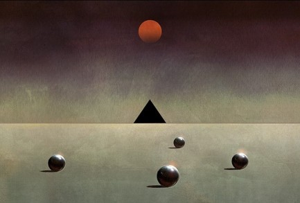Pink Floyd Dark Side 12%22 Single Art